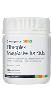 Open image in slideshow, Metagenics Fibroplex MagActive for Kids