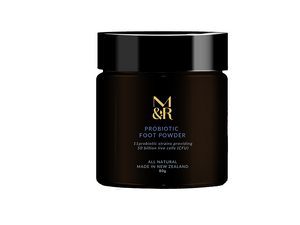 M&R Essentials Probiotic Foot Powder