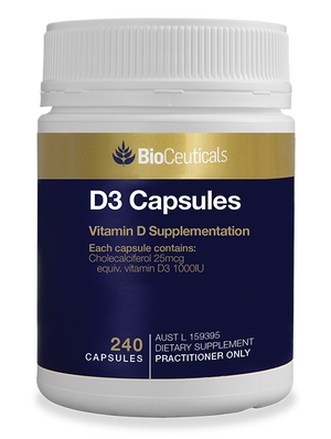 Open image in slideshow, BioCeuticals D3 Capsules