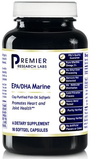 Open image in slideshow, Premier Research Labs EPA/DHA Marine Softgels