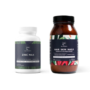 Open image in slideshow, Raw Nutrients Healthy Hair, Skin & Nails Bundle