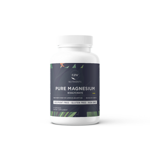 Open image in slideshow, Raw Nutrients Pure Magnesium Bisglycinate