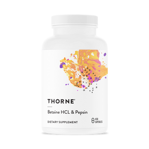 Open image in slideshow, Thorne Research Betaine HCL & Pepsin