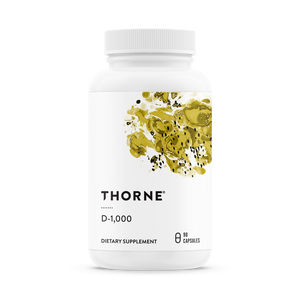 Open image in slideshow, Thorne Research D-1000 (Vitamin D3)