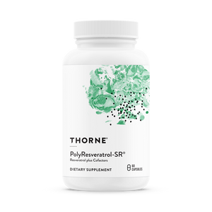 Open image in slideshow, Thorne Research PolyResveratrol-SR