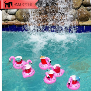 Flamingo Floating Inflatable Drink Holder