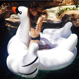 Giant Inflatable White Swan - 1.5M