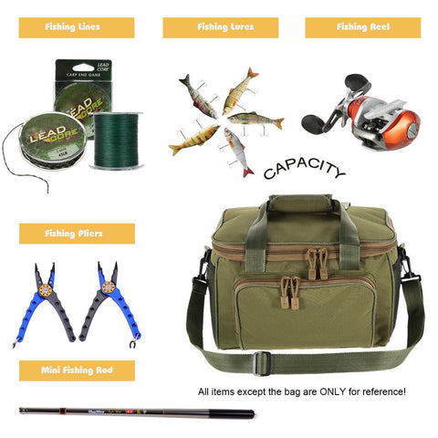 Multifunction Fishing Canvas Bag [variant_title] - think-endless-summer-inc