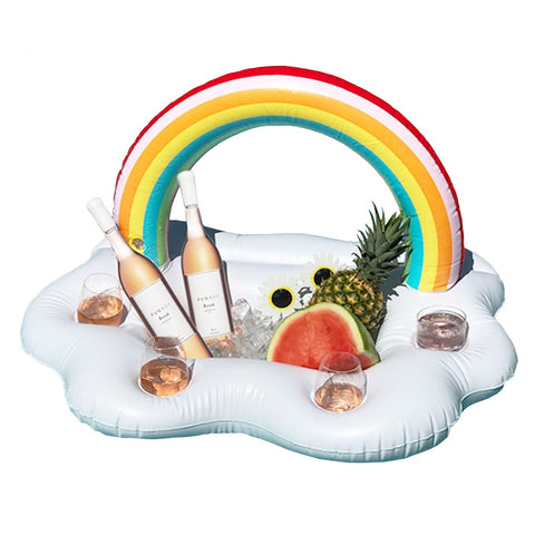 Image of Rainbow Cloud Drink Holder - la-pool-guys