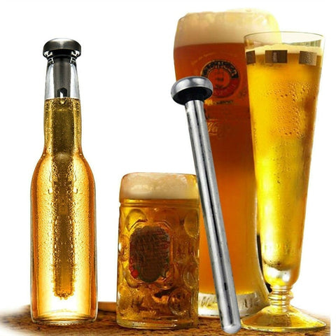 Stainless Steel Beer Chiller Rod - la-pool-guys