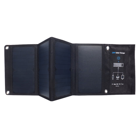 ENDLESS SOLAR Portable Folding High Speed Phone Sun Powered Charger Panel [variant_title] - think-endless-summer-inc