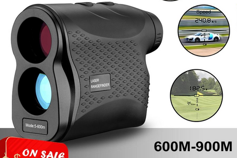 ES CLASS ONE TOUR Precision Laser Rangefinder - More Precision Less Cost - Golf Range Finder And Hunting Up to 650 Yards - Speed Measuring Capabilities 0-185 MPH - 6x magnification [variant_title] - think-endless-summer-inc