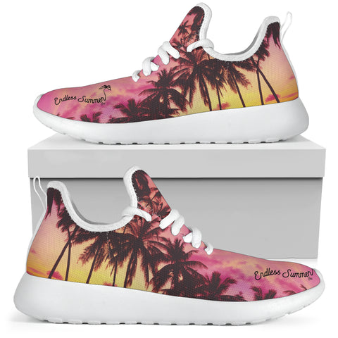 Image of Palm Life Beachwear Mesh Knit Athletic Fashion Custom Sneaker [variant_title] - think-endless-summer-inc