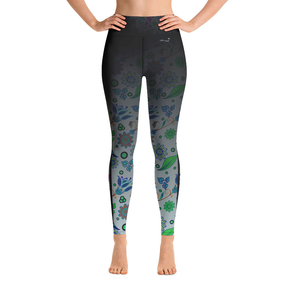 Summer Breeze Classic Ankle Length Yoga Leggings XS - think-endless-summer-inc