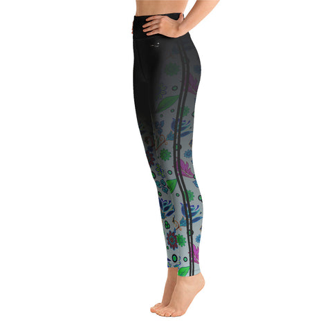 Image of Summer Breeze Classic Ankle Length Yoga Leggings - la-pool-guys