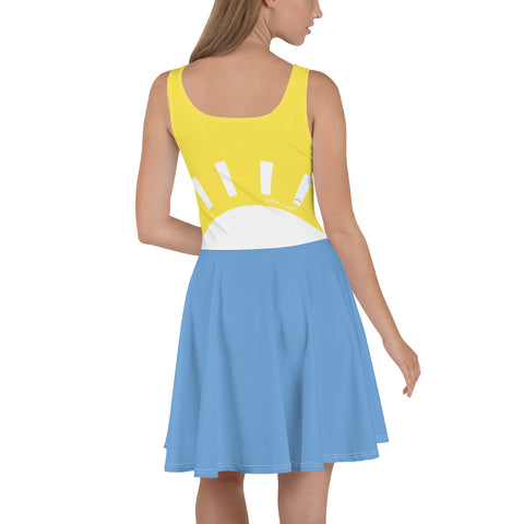 Womens Sunset Skater Dress - la-pool-guys