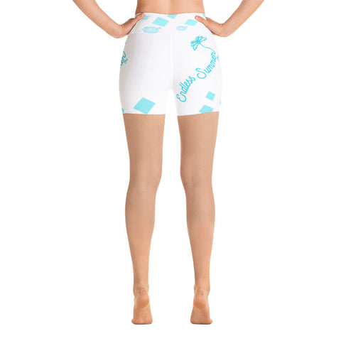 Image of Cool as Ice Yoga Shorts [variant_title] - think-endless-summer-inc