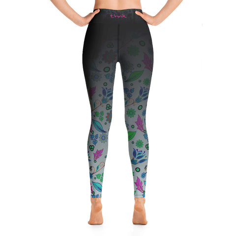 Image of Summer Breeze Classic Ankle Length Yoga Leggings [variant_title] - think-endless-summer-inc