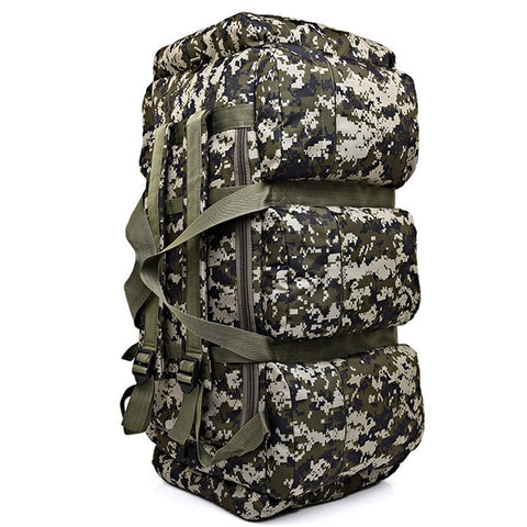 Large Capacity Outdoor Canvas Bag 01 camouflage - think-endless-summer-inc