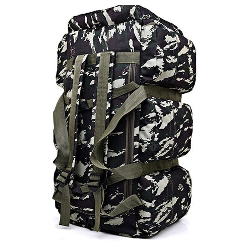 Large Capacity Outdoor Canvas Bag 04 camouflage - think-endless-summer-inc