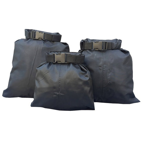 Waterproof Storage Dry Bag 3pcs black - think-endless-summer-inc