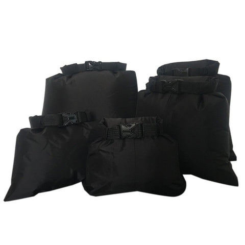 Waterproof Storage Dry Bag 5pcs black - think-endless-summer-inc