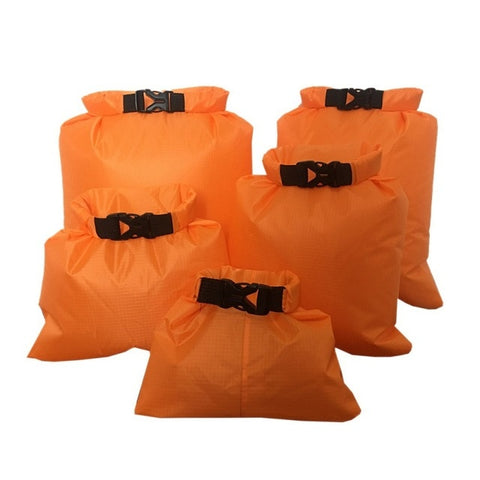 Waterproof Storage Dry Bag 5pcs orange - think-endless-summer-inc