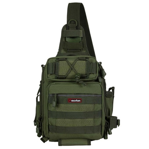 Tactical Waterproof Shoulder Bag Army Green - think-endless-summer-inc