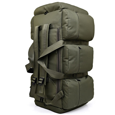 Large Capacity Outdoor Canvas Bag Army Green - think-endless-summer-inc