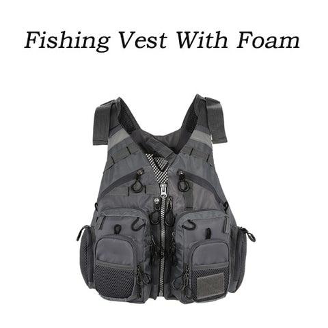 Outdoor Multi Pocket Fishing Vest As Show 2 - think-endless-summer-inc