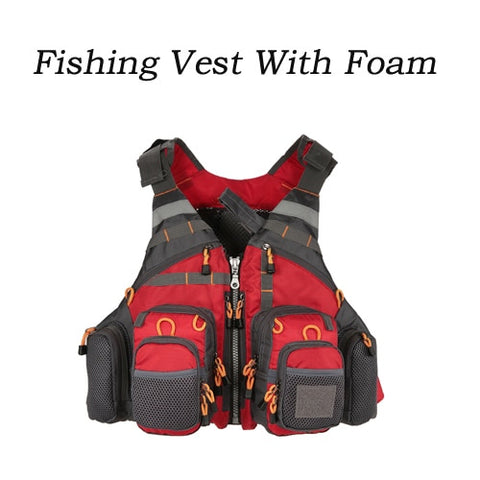 Outdoor Multi Pocket Fishing Vest As Show 4 - think-endless-summer-inc