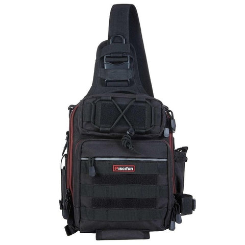 Tactical Waterproof Shoulder Bag Black - think-endless-summer-inc