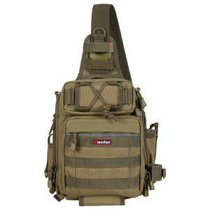 Tactical Waterproof Shoulder Bag Coyote Tan - think-endless-summer-inc