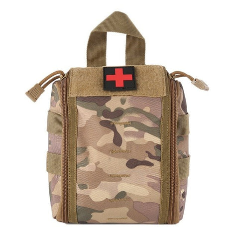 Army Camouflage Outdoor First Aid Kit D - think-endless-summer-inc