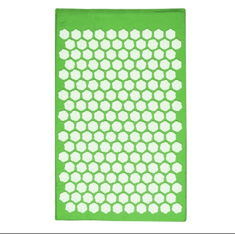 Lotus Acupressure Massage Mat LightGreen lotus mat - think-endless-summer-inc