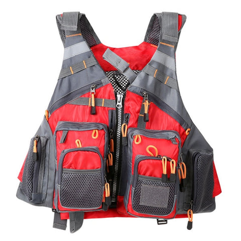 Breathable Utility Fishing Vest no foam4 / One Size - think-endless-summer-inc