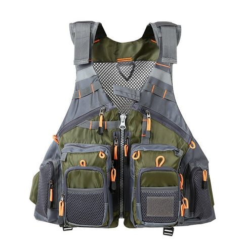 Breathable Utility Fishing Vest no foam6 / One Size - think-endless-summer-inc