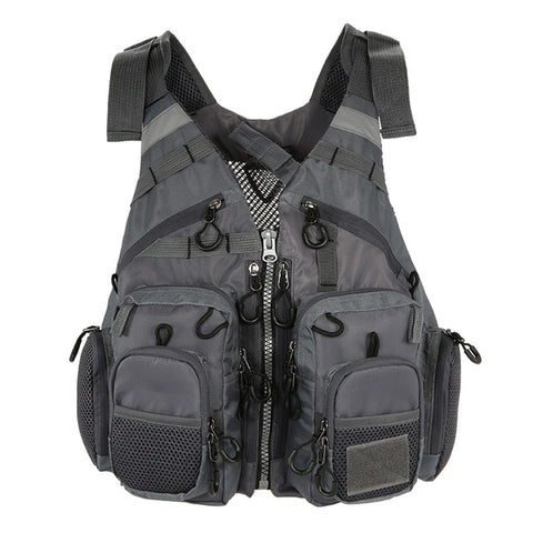 Breathable Utility Fishing Vest with foam7 / One Size - think-endless-summer-inc