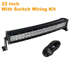 High Powered Curved LED Light Bar