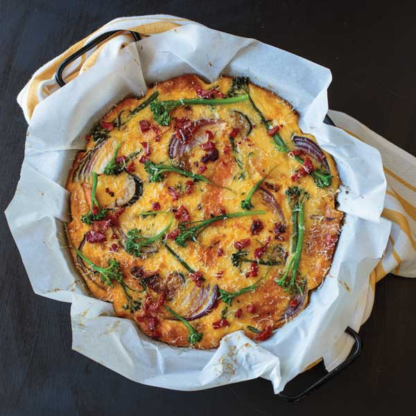 Broccolini Frittata