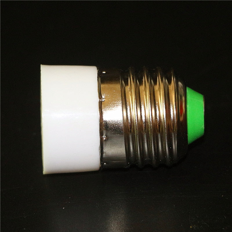 E27 TO E14 Adapter Conversion Socket ABS Material Fireproof Socket  Lamp Holder