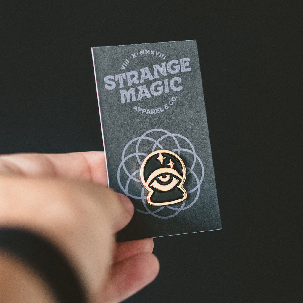 Strange Magic Emblem Pin