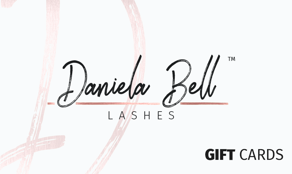 Daniela Bell Lashes Gift Card