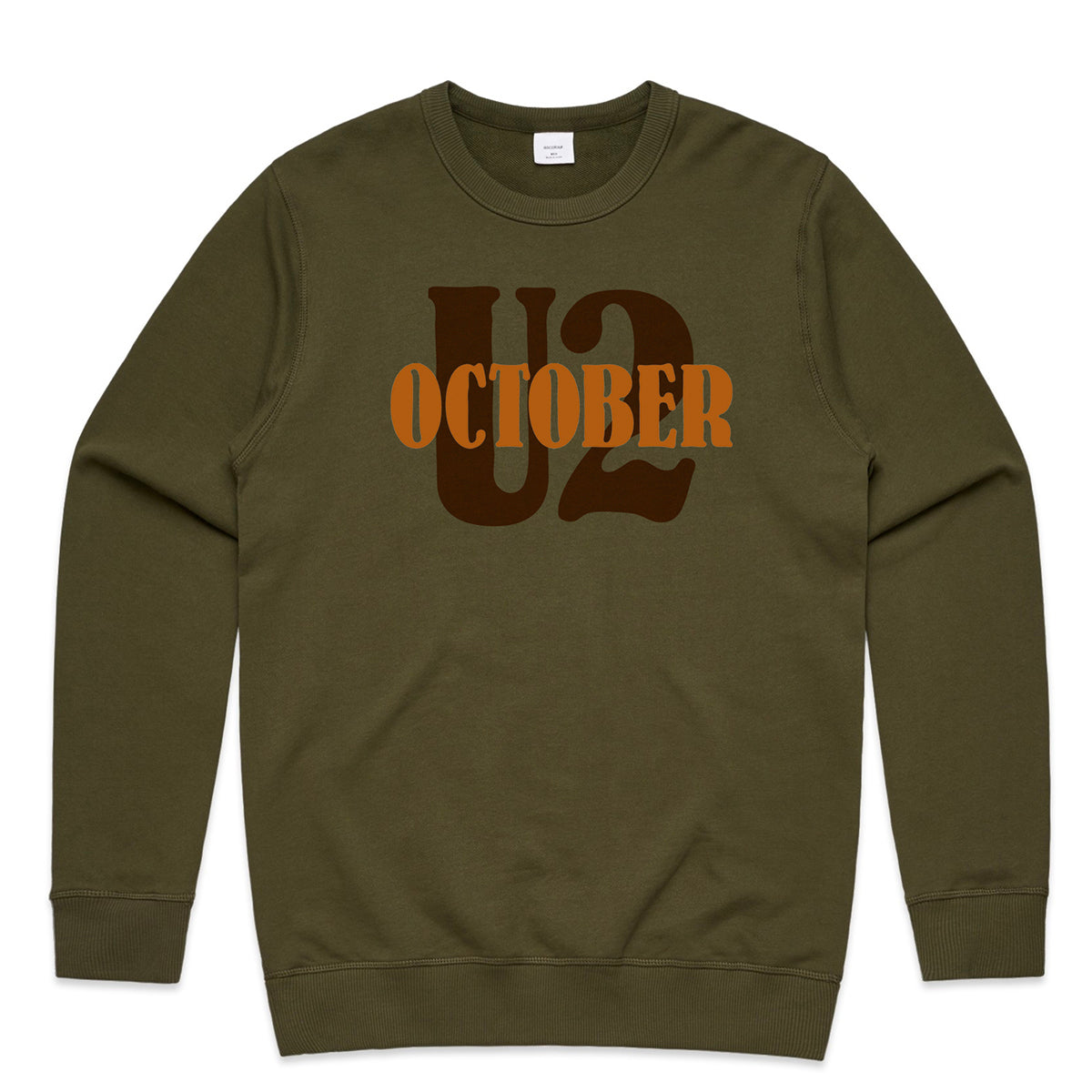 U2 October Khaki Sweatshirt