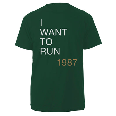 The Joshua Tree I Want To Run Men's Green T-Shirt