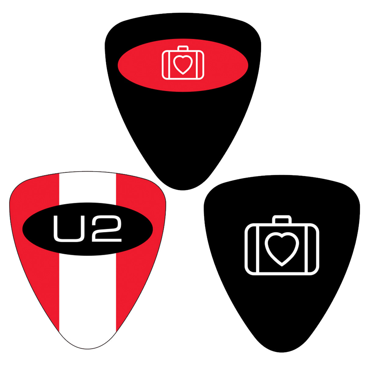 Symbols Plectrum Set