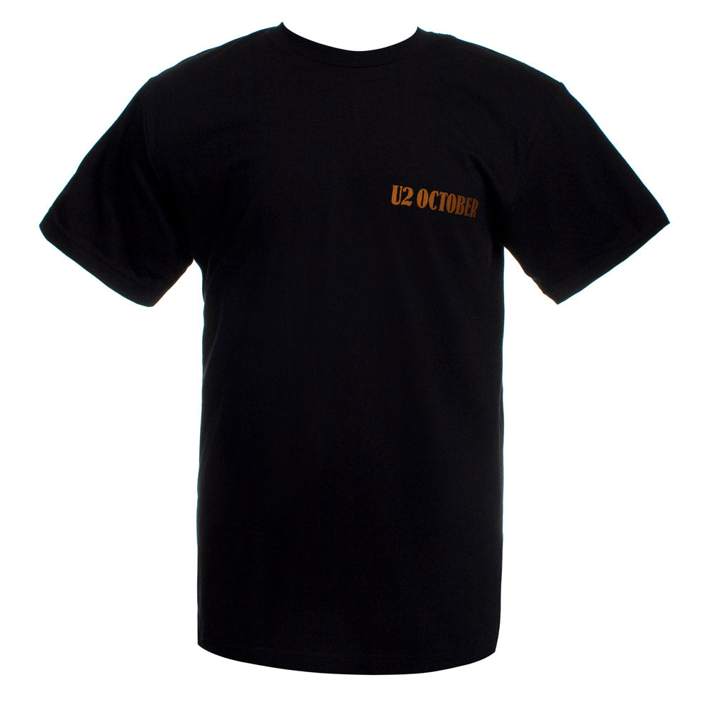 'OCTOBER' Logo Black T-Shirt