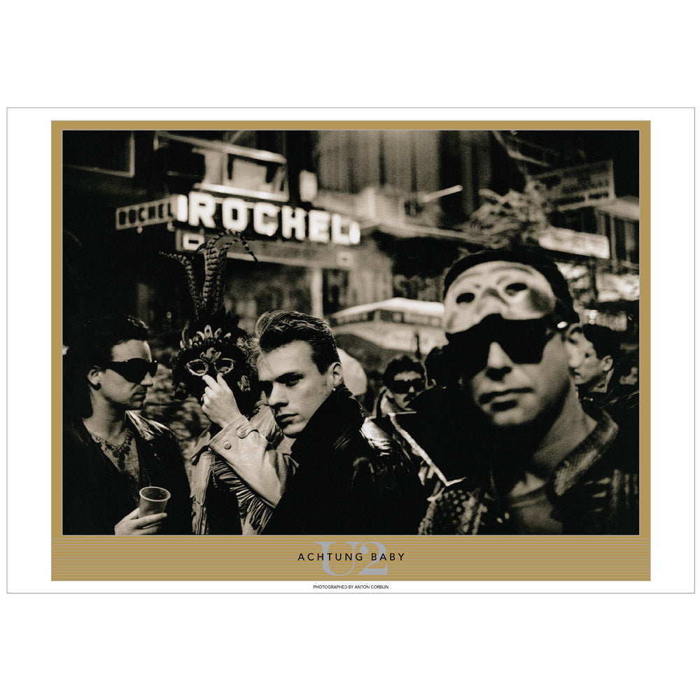 Achtung Baby by Anton Corbijn, Tenerife.  Exclusive Limited Edition Lithograph Series