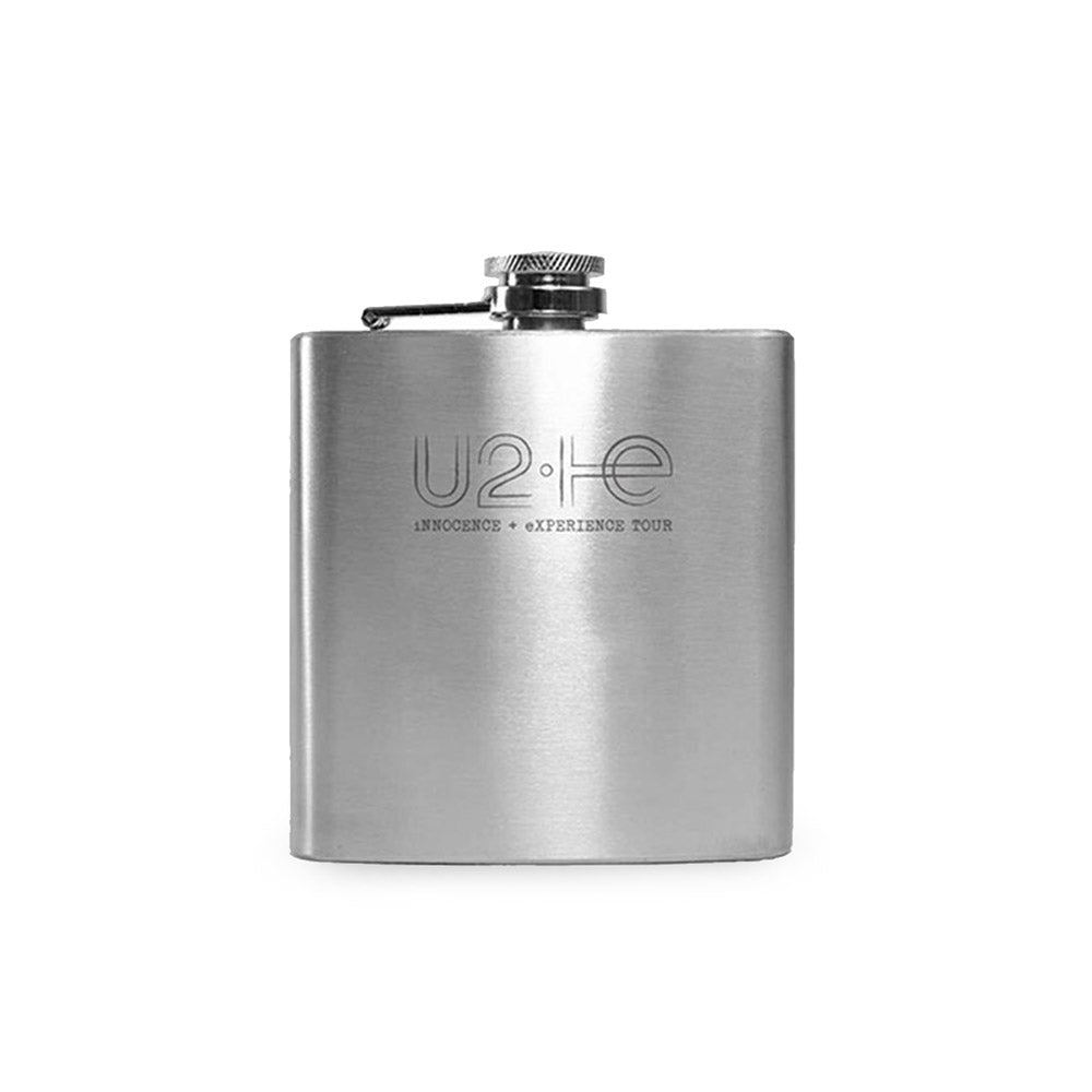 U2ie Tour Silver Flask