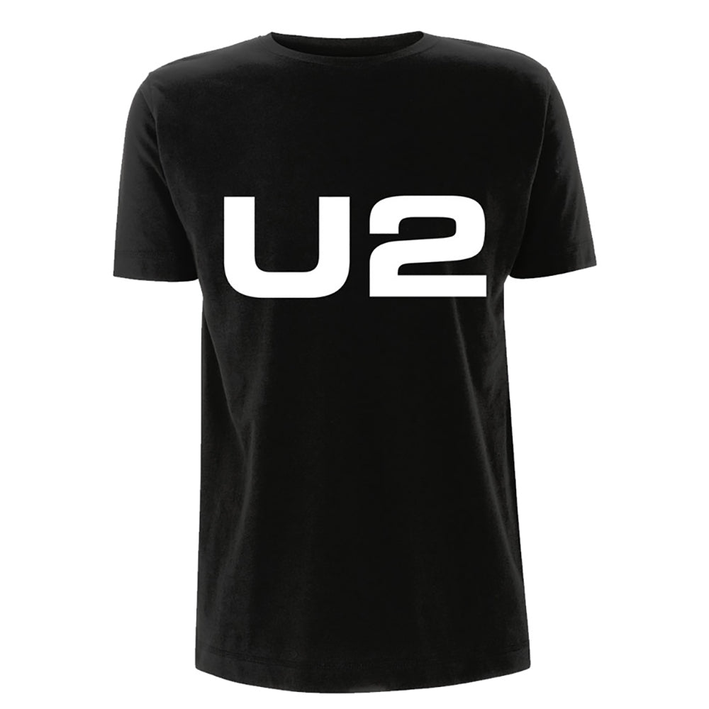 U2 Logo Black T-shirt